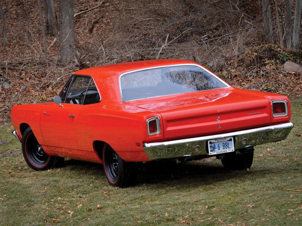 1968 Plymouth Roadrunner Orange